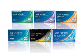 Air Optix Family of Contact Lenses